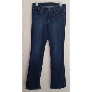 Lucky Brand Sweet Boot Blue Jeans 4/27 Dark Wash